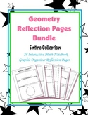 Geometry Interactive Math Notebook {Reflection}: (Bundle)