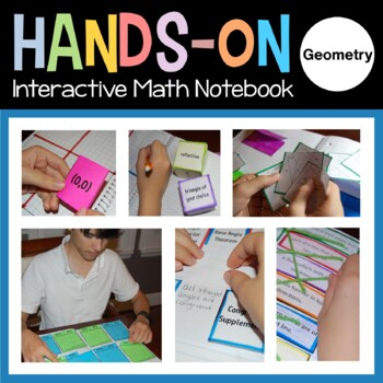 Geometry Interactive Notebook with Scaffolded Notes Distance Learning