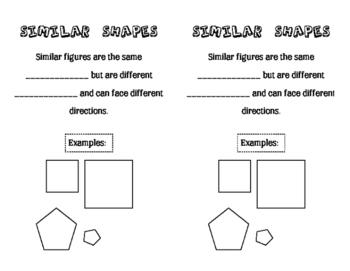Geometry Interactive Notebook