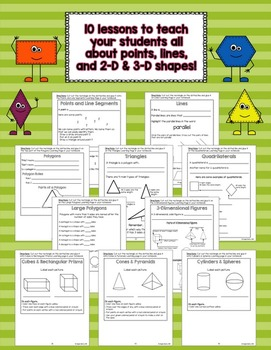 Geometry Interactive Notebook: A Complete Unit