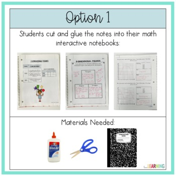 Geometry Interactive Notebook {Covers 5th Grade G.A Standards}