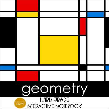 Geometry Interactive Notebook Grades 3-4 CCSS