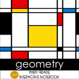 Geometry Interactive Notebook Grades 3-4 CCSS