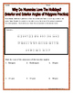 Polygons -  Interior and Exterior Angles of Polygons Christmas Riddle Worksheet