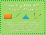 Geometry Introduction Mini-Lesson PowerPoint