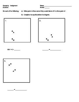 Geometry - Introduction to Dilations