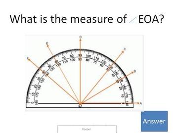 Geometry Jeopardy 4th Grade