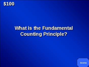 Geometry Jeopardy Editable PowerPoint