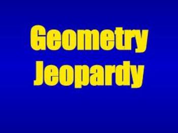 Geometry Jeopardy - Envision Math - Topic 15
