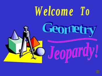 Geometry Jeopardy Powerpoint