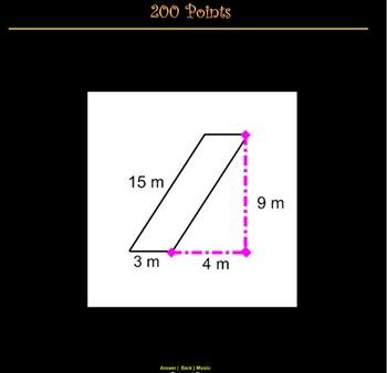 Geometry Jeopardy (Smart Lesson)