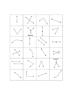 Geometry - LINES / ANGLES CARD SORT