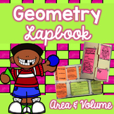 Geometry Lapbook - Area and Volume