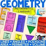 Geometry Lapbook Interactive Kit | Geometry Activity
