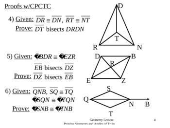 Geometry Lesson 15: C.P.C.T.C