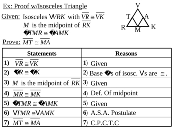 Geometry Lesson 16: Isosceles and Equilateral Triangles