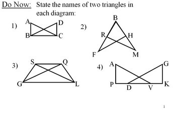 Geometry Lesson 18: Proofs with Overlapping Triangles