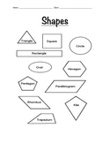 Geometry Lesson Plan Worksheets and Answers- Part 2 of 2