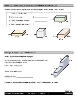 Geometry Lesson: Volume of Rectangular Prisms
