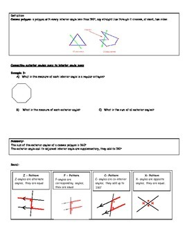 Geometry Lessons