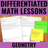 Geometry Lessons for Guided Math - Differentiated