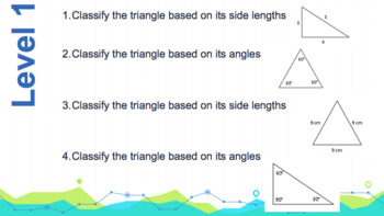 Geometry Leveled Activity