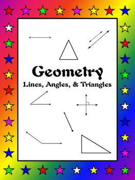 Math - Geometry/Lines, Angles, & Triangles Card Games