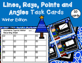 Geometry - Lines, Rays, Points, and Angles Task Cards (Win