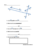 Geometry: Types of Lines Review