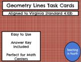 Geometry Lines Task Cards