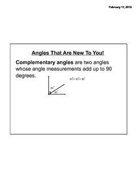 Geometry- Lines and Angle Relationships