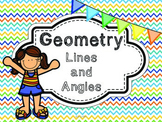 Geometry Lines and Angles Common Core