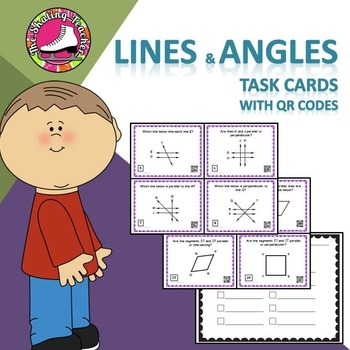 Geometry - Lines and Angles Task Cards