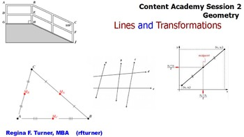 Geometry Lines and Transformations