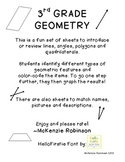 Geometry: Lines, polygons, angles & quadrilaterals :)