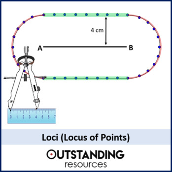 Loci or Locus of Points (bisecting lines and angles)