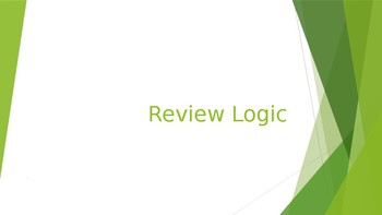 Geometry - Logic Review