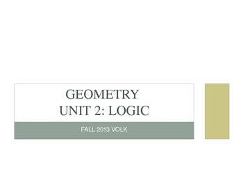 Geometry Logic Unit