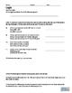 Geometry- Logic and  Reasoning- Exit Ticket, Quiz or Homework