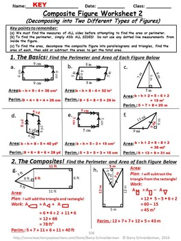 2-D Geometry Unit: Area and Perimeter, Classifying Quadrilaterals and Triangles