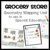 Grocery Store Geometry Mapping Unit for Special Education