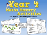 Geometry Mastery Activities – Year 4