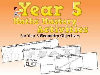 Geometry Mastery Activities – Year 5