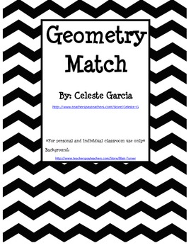 Geometry Match Game