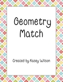 Geometry Match Game - Common Core Aligned 4.G.A.2