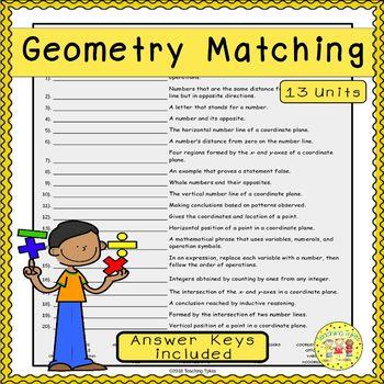 Geometry Matching