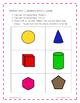 Geometry Matching Game-2nd Grade