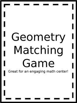 Geometry Matching Game