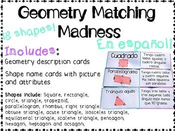 Geometry Matching Madness