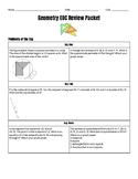 Math 1 Geometry EOC Review Bundle